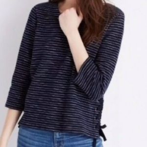 Madewell side lace top